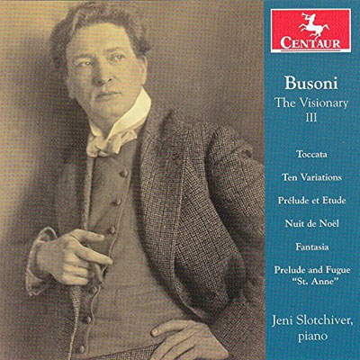 Cover of Busoni The Visionary, Volume III